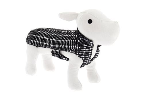 Manteau de Dogue Noir et Blanc 33 cm Ferribiella