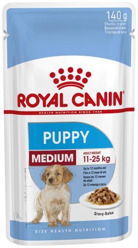 10x140 gr Royal Canin Medium Puppy