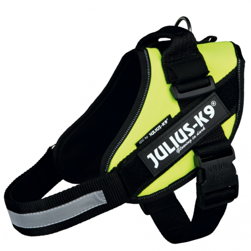 IDC Harnais jaune néon Mini Julius K9