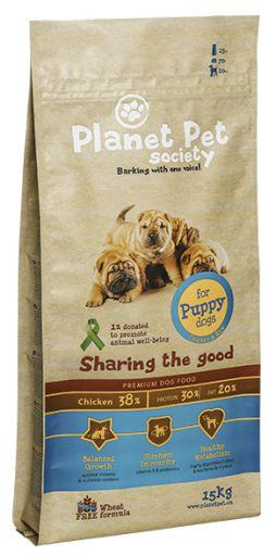 Fourrage pour Chiens Puppy de Poulet et Riz 15.17 kg Planet Pet