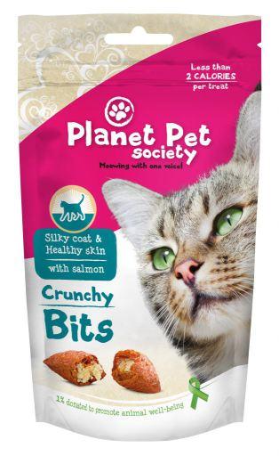 Snack Gato Bites Pelo y Piel 40 GR Planet Pet