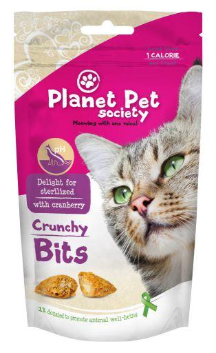 Morsures Snack stérilisées Cat 40 GR Planet Pet