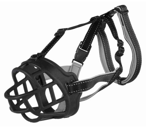 Silicone Flexible Muzzle for Dogs