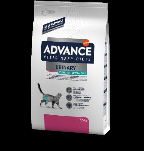 Cat Sterilized Urinary Low Calorie 7.5 KG Advance