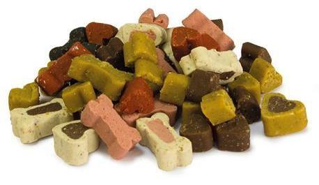 Mix Snacks coeurs mous et des os de chien 5.122 kg Arquivet