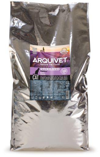 Cat Sterilized Turkey 10.05 kg Arquivet