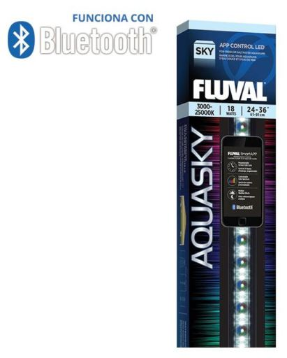 Bluetooth 2.0 12w LED Aquasky 500 GR Fluval