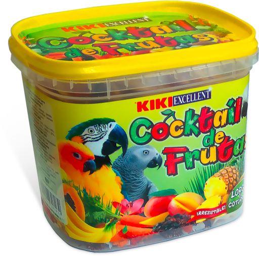 Cocktail de fruits pour perroquets pot 300 GR Kiki