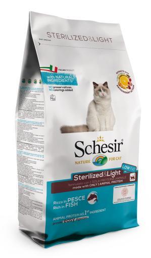 Fish Sterilized 10 KG Schesir