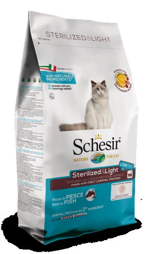 Fish Sterilized 1.5 Kg Schesir