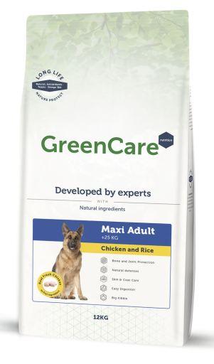 Adult Maxi Pulet et Riz 12 KG GreenCare Nutrition