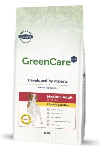 Adult Medium Poulet et Riz 12 KG GreenCare Nutrition