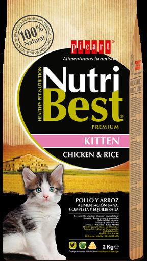Nutribest Kitten Food For Kittens 8 KG Picart