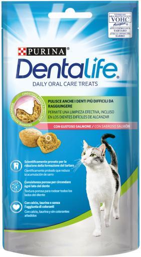 Snack de Salmón para el Cuidado Bucodental en Gatos