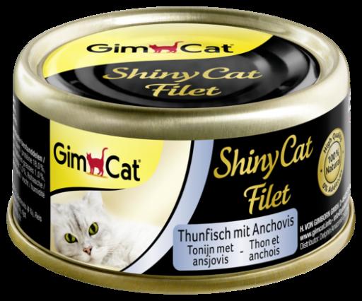 Croquettes Shinycat au thon et aux anchois pour chat humide 70 GR