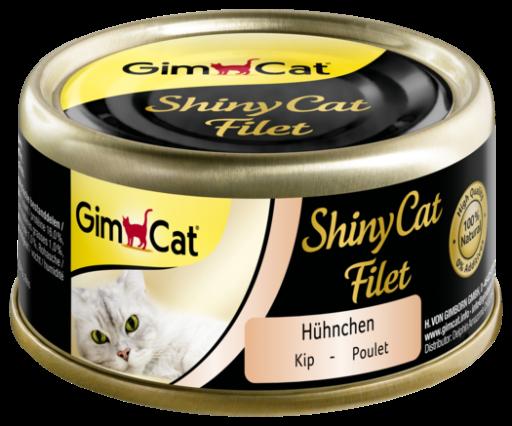 Comida Humeda Shinycat para Gatos de Filet Pollo