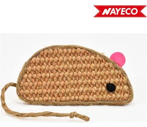 Souris en sisal 11.5 cm Nayeco