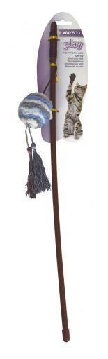 Tige en laine douce avec boule 45 cm Nayeco