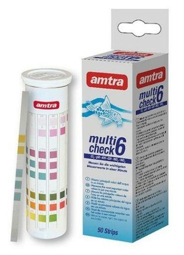 Test 6 en 1 para Acuarios Multicheck Amtra