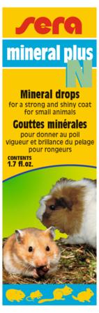 Mineral Plus N pour le pelage brillant des rongeurs 50 ml Sera