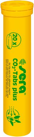 CO2 Tabs Plus 20 Comprimés d'engrais 90 GR Sera