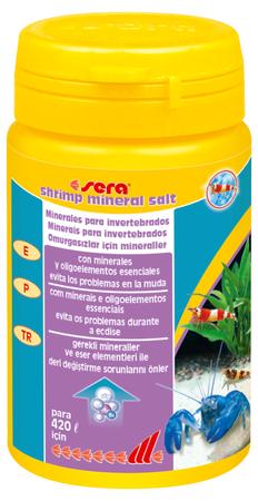 Sel minéral pour crevettes 105 GR Sera