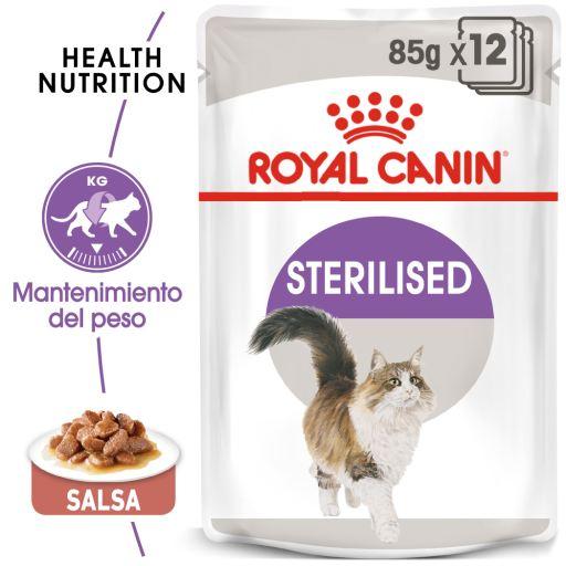 Sterilised Comida Húmeda en Salsa para Gato Adulto Esterilizado