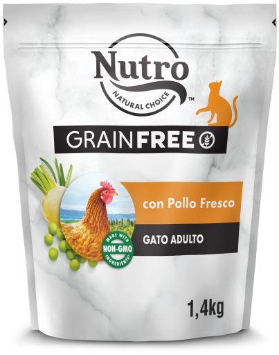Croquettes pour chat Les Créations Natural Chicken Grain Free 1.4 KG