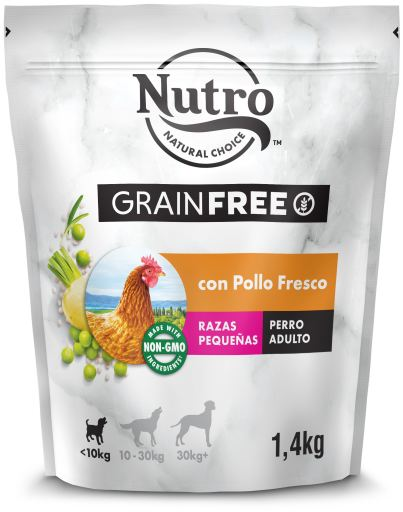 Natural Chicken Grain Free Complete Meal for Small Dogs 1.4 KG Nutro