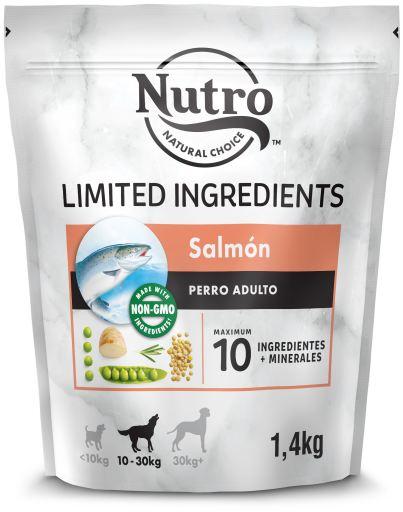 Nourriture Naturelle chiens de taille moyenne limités Saumon 1.4 KG