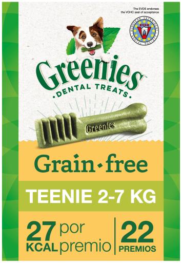 Snack dentaire sans grain naturel pour chien jouet 22 Greenies