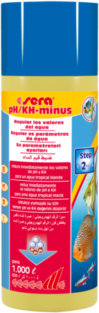 sera pH/KH-moins