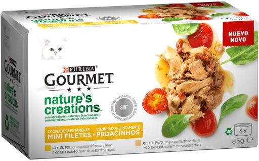 Nature'S Creations Mini Filets Rich In Chicken And Turkey
