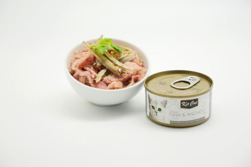 Atun And Anchovies 80 GR Kit Cat