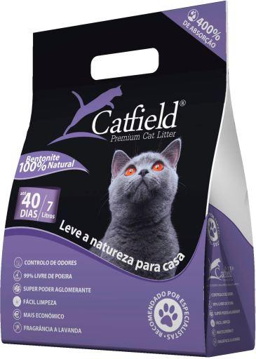 Litière Bentonite Lavande 7 L Catfield