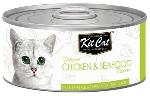 Nourriture humide Poulet et thon 80 GR Kit Cat