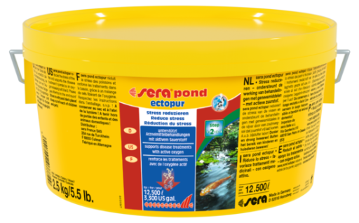 Pond Ectopur Ponds For Disease And Stress 2.5 KG Sera