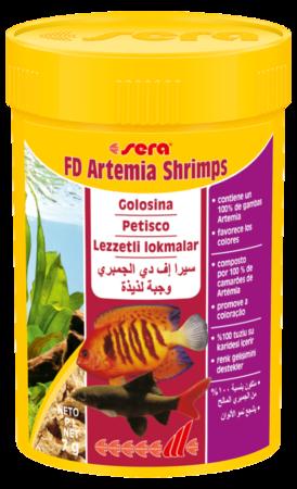 FD Artemia Shrimps pour des couleurs éclatantes 7 GR Sera