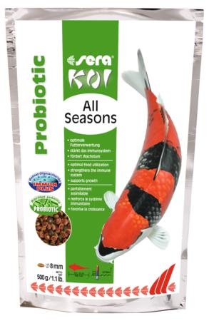 Koi All Seasons Probiotic 500 GR Sera