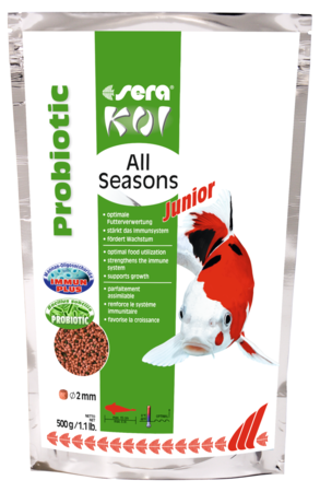 Koi Junior All Seasons Probiotic 500 GR Sera