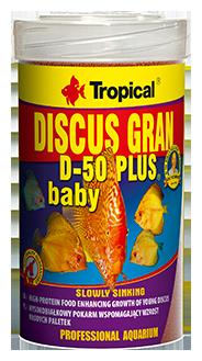 Discus Gran D-50 Plus Baby 100 ml Tropical