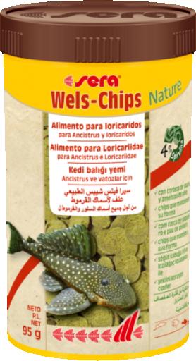 Wels Chips Nature 95 GR Sera