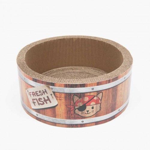 Grattoir Pirates Barrel 42 cm Catit