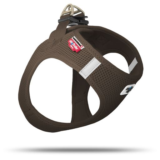 Mesh Harness For Dogs Brown Color