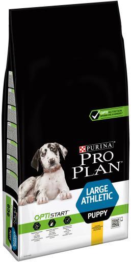 Optistart Puppy Poulet Large Athletic 12 KG Pro Plan