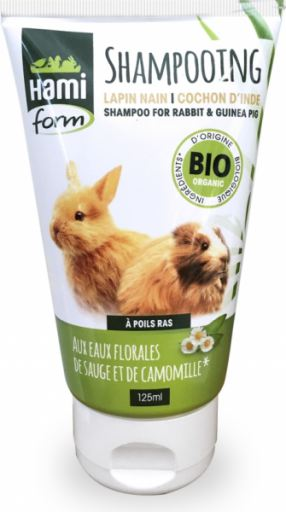 Organic No Rinse Cleansing Gel For Rabbits And Guinea Pigs 125 ml