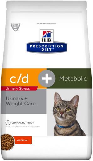 Prescription Diet c/d Urinary Reduced Calorie 4 KG Hill's