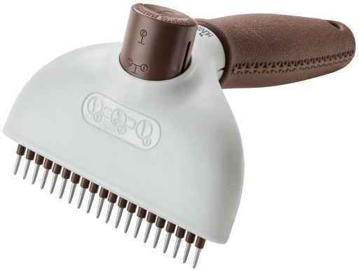 Curry Comb Anti-Tangle/Self-Cleaning Comb L Hunter