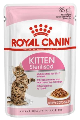 12x85 gr Royal Canin Kitten Sterilised Salsa