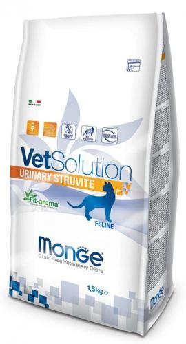 urinaire struvite 1.5 Kg Monge Vet Solution